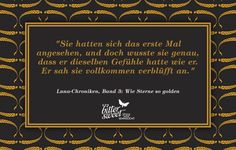 """aus """"Wie Sterne so golden"""" von Marissa Meyer. Mehr zum Buch auf www.bittersweet.de"""