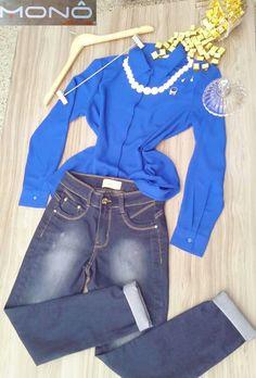 """A coleção Monô Jeans é para todo tipo de mulher. .. Decidida, descolada, atraente. O que importa é se sentir bem!  """" Seja única, Use MONÔ JEANS! """"  #JeansWear #Collection #Moda #Feminino #Brás #Atacado"""