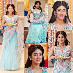 naira indian outfits in yrkkh / yrkkh outfits naira & naira outfits in yrkkh & naira indian outfits in yrkkh & naira outfits yrkkh latest Designer Bridal Lehenga, Bridal Lehenga Choli, Dress Indian Style, Indian Wear, Indian Attire, Indian Wedding Outfits, Indian Outfits, Indian Weddings, Pakistani Dresses