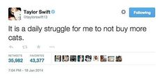 When she understood one of life's greatest weaknesses: | 21 Taylor Swift Tweets That Prove She's Always Said What You Were Thinking