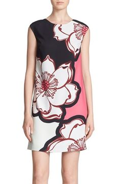 Ted Baker London 'Caeley' Floral Print Tunic Dress