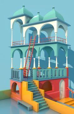 My name is Escher. on Behance