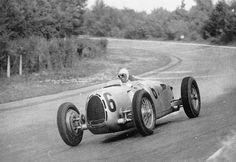1936 GP Italy  Auto Union Type C Achille Varzi