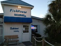 This is a favorites of The Garrett's and The Phillip's :)  Fish House Restaurant, Oak Island, NC