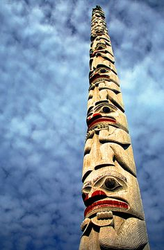 Totem Pole, Ketchikan by h_roach, via Flickr