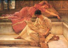Lawrence Alma Tadema - The Favourite Poet