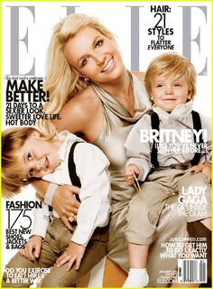 Britney Spears Covers 'Elle' January 2010