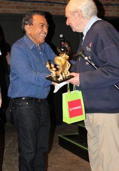 Rodolfo Zalla e Maurício de Sousa