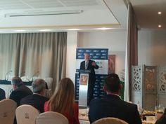 Asistencia a la conferencia de #MarioWeitz en Marbella. Organización: Cit Marbella