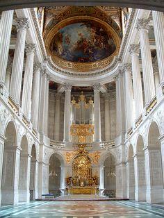 The Royal Chapel, Versailles