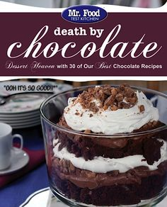 FREE eCookbook: Death by Chocolate! ~ at TheFrugalGirls.com #chocolate #recipes
