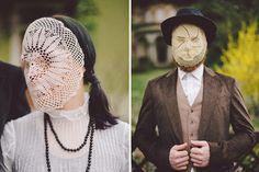 francesca lombardi giacomo favilla doily masks portraits