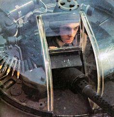 machine gun turret of the Focke-Wulf Fw 200 'Condor' Luftwaffe, Ww2 Aircraft, Military Aircraft, Aircraft Images, Photo Avion, Gun Turret, Focke Wulf, Man Of War, Ww2 Planes