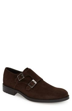 Kenneth Cole New York 'What He Said' Double Monk Strap Shoe (Men) available at #Nordstrom