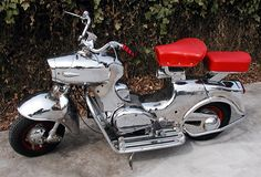 Chromed 1958 150cc Rumi Formichino