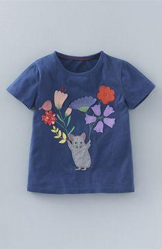Mini Boden 'Meadow Flutter' T-Shirt (Toddler Girls, Little Girls & Big Girls)