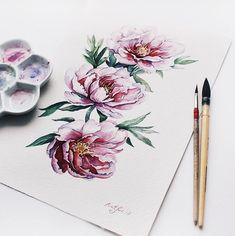 """6,947 kedvelés, 17 hozzászólás – Watercolor illustrations  (@watercolor.illustrations) Instagram-hozzászólása: """" Watercolorist: @nativa_artist #waterblog #акварель #aquarelle #painting #drawing #art #artist…"""""""