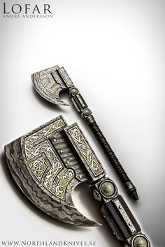 Andr Andersson Custom Damascus Knives - Knives, Daggers, Swords and Artknives from Sweden