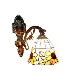 Sunflower Tiffany Wall Sconces Lighting for Home Hallway