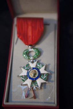 14 April 2015 eight New Zealand Veterans were awarded the French Legion of Honour by the French Ambassador to New Zealand H. Mrs Florence Jeanblanc-Risler at ceremony held at the National Mueseum of the Royal New Zealand Navy. Legion Of Honour, World War Two, New Zealand, Florence, Bracelet Watch, Hold On, Two By Two, Presentation, Navy