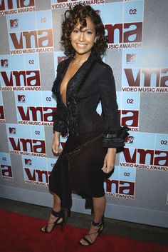 At the MTV Video Music Awards at Radio City Music Hall in New York City on Aug. 29, 2002.   - Cosmopolitan.com