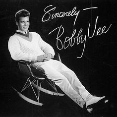 Sadly, we lost music legend #BobbyVee this week. Here's an image of him in an #Eames RAR. #TBT