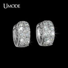 UMODE Fashion Unique Round Loop Huggie Hoop Earrings for Women Tiny Paved CZ Jewelry Pendientes Aretes de Mujer Brincos Bagan, Fashion Accessories, Fashion Jewelry, Women Jewelry, Jewelry Accessories, Beautiful Gifts, Beautiful Outfits, All About Fashion, Fashion Pictures