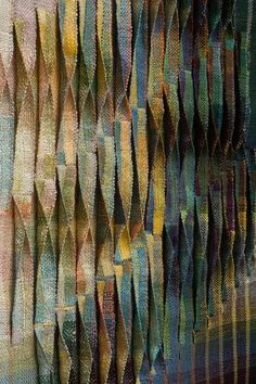 Judith Poxson Fawkes / Seven Six Times (detail) (double weave linen, Motifs Textiles, Weaving Textiles, Tapestry Weaving, Textile Patterns, Textile Texture, Textile Fiber Art, Fabric Textures, Texture Art, Backgrounds Wallpapers