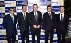 En la gala benéfica organizada por el Rotary Club de Castellón-Costa de Azahar
