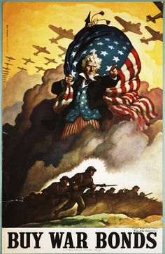 WWII Uncle Sam Poster