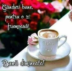 Good Morning, Tea Cups, Inspirational Quotes, Mugs, Tableware, Good Morning Wishes, Frases, Amor, Buen Dia