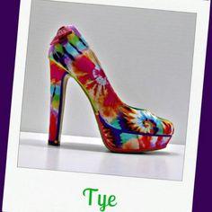 Tye Dye Shoes