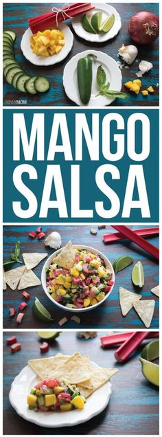 Here's how to make the BEST mango salsa!