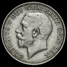 1913 George V Silver Shilling, VF