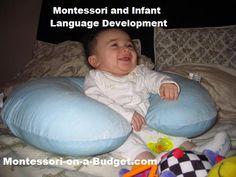 Montessori and Infant Language Development at {Montessori on a Budget}
