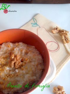17 dicembre -Risotto pecorino,pere e noci.  http://www.pranzodifamiglia.it/risotto-pecorino-pere-e-noci/