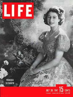 Original Life Magazine from July 1947 - Princess Elizabeth Old Magazines, Vintage Magazines, Vintage Books, Vintage Cards, Life Magazine, Life Cover, Elisabeth Ii, Tv Guide, Women In History
