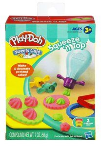 PLAY-DOH® SWEETS CAFÉ™ SQUEEZE 'N TOP™ TOOL Sold at all Metro Departmental Stores. Visit www.metro.com.sg for more information or LIKE our Facebook page at www.facebook.com/...