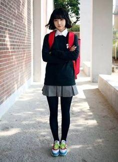韓国制服風 コーデ - Google 検索