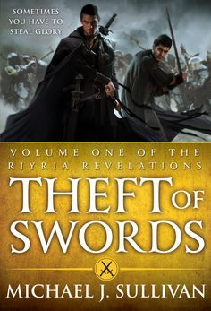 """The Riyria Revelations #1 & #2: Theft of Swords by Michael J. Sullivan. Omnibus  contains The Crown Conspiracy & Avempartha, published by Orbit. Trade Paperback $14.99, Amazon $10.19. Debut 09/2011. """"Fans of Fritz Leiber's classic """"Fafhrd and the Gray Mouser"""" novels should welcome the adventures of Hadrian and Royce. A winning debut for fantasy lovers"""""""
