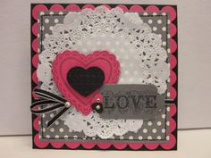 Reminds me of an old-fashioned Valentine with a fresh color mix--nice!