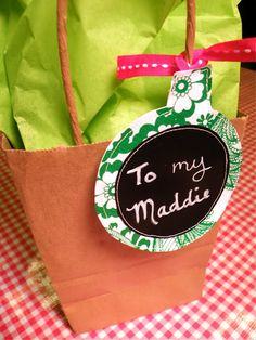 Great idea - oilcloth and chalkboard paper!
