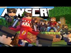 RED WAS HERE!!   Minecraft Mini-Games RedVacktor & Preston VS The Sky Army