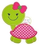 Turtle Girl 2 Applique