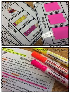 If you're looking for ways to increase student engagement during your small group lessons, this post on Adventures in Literacy Land has three quick and easy ideas for you.
