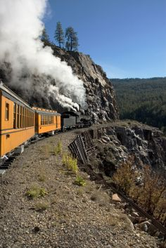 The Durango & Silverton Narrow Gauge Railroad - Durango, CO - a historic railroad still in operation