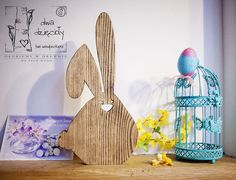 HANDSOME LOP-EARED EASTER BUNNY from Two Woodpeckers by DaWanda.com