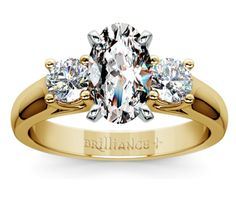 Oval Round Diamond Engagement Ring in Yellow Gold http://www.brilliance.com/engagement-rings/round-diamond-ring-yellow-gold-1/2-ctw