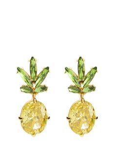 PINEAPPLE DROP EARRING - Juicy Couture