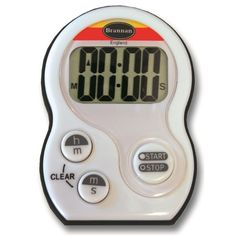 A heavy duty timer which is switchable from 99 minutes 59 seconds to 19 hours 59 minutes.